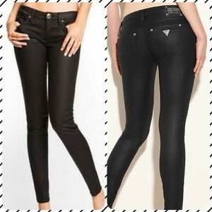GUESS PREMIUM 'POWER SKINNY'-Metallic